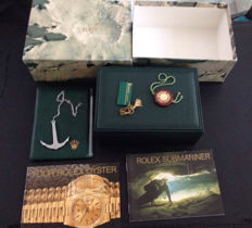 Rolex original complete box set Submariner