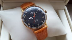 "CORNAVIN ''Poljot De Luxe "" ultra-slim"" Men's watch. Export series. Vintage Watch Soviet USSR 1961-1970's ."