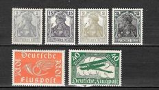German Empire 1905/1945 - A selection on stock cards