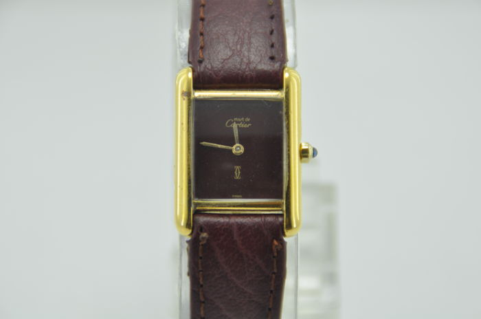 Must De Cartier Tank - Women's Wristwatch
