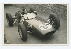 3 Period black and white Jim Clark Jo Bonnier Team Lotus  photographs