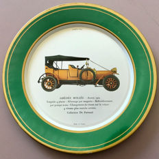 Classic cars prior to 1920 - Lot of 25 Shell advertising plates in lithographed enamelled metal - circa 1970