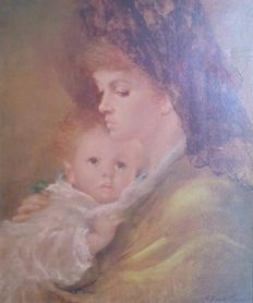 Armando Gentilini (1909-1981) Mother Love