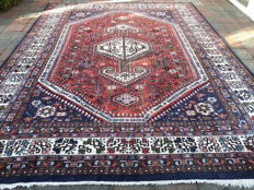 Magnificent XL Hand-knotted Oriental Gashgai - 390cm x 298cm ! With Certificate!