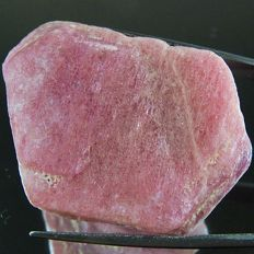 Unheated Natural Rough Pink Ruby  - 22 x 15 x 15 mm - 27.2 gm - 136.01 Ct