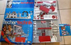 Fischer Technik 400 and 400 S - in original packaging and sealed, with building instructions, complete - 1970