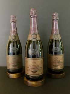 1979 Veuve Clicquot Ponsardin Carte Or - 3 bottiglie (75cl)