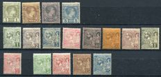 Monaco 1885/1940 – Collection of stamps – between Yvert no. 1 and 214.
