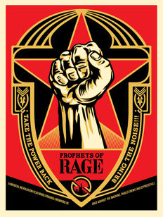 Shepard Fairey (OBEY) - Prophet of rage