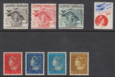 The Netherlands 1921/1940 – Airmail and Official stamps – NVPH LP6/LP8, LP9 and D16/D19