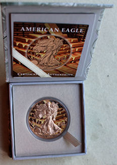 USA - 1 Dollar 2017 'American Eagle' - 1 oz silver