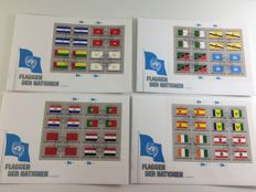 United Nations New York, Geneva and Vienna - batch 540 first-day covers