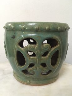Celadon Incense Burner - China - late 19th/begin 20th century