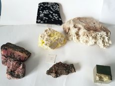 Lot of minerals - 30 to 170 cm - 1710 g (7)