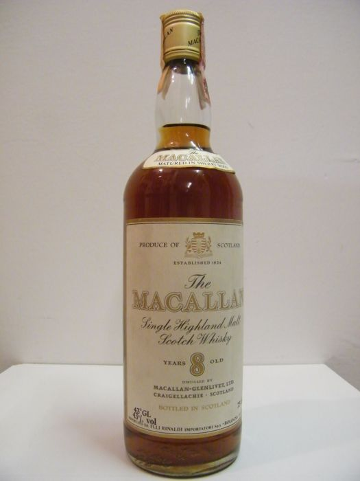 Macallan 8 years old Sherry Wood