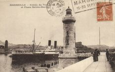 Lighthouses France 122X - Various locations - 1905/1965