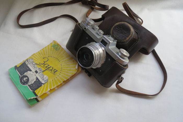 "Exclusive, rare camera ""Zarya"". USSR 1959-1961 FED (Kharkov). The release of just two years. Number from the first issues."