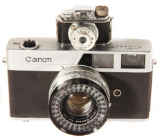 Canonet 3 and the Colly miniature camera