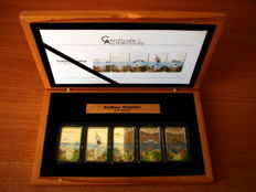 Palau - 2 Dollars 2012 'Endless Paradise' (5 coin set) - Silver