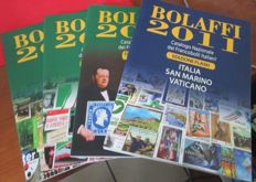 Lot of Italian regions catalogues – Bolaffi and others