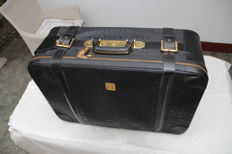 MCM - travelling suitcase with 4 wheels - vintage