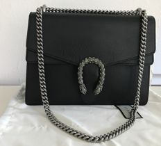 Gucci - Dionysus medium - all black leather Swarovski - Sold Out