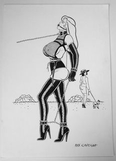 "Capogna, Max - original illustration ""AlulA BeBop - Le Tuileries"" (1998)"
