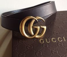 GUCCI - Double G belt - very good condition