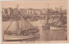very good lot of 110 old postcards of Belgium