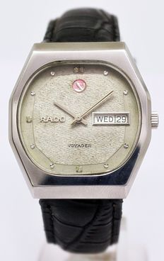 Rado Voyager Automatic Men's Wrist Watch - circa 1980
