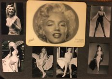 Marylyn Monroe photo's and table art from her restaurant Monroe's