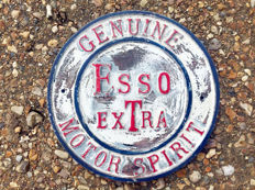 Vintage ' ESSO EXTRA ' Advertising Garage Sign