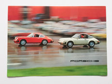 1976 Porsche folder brochure for the 2.7, 3.0 Carrera and 3.0 Turbo