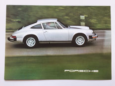 1975 Porsche 911 -  2.7 and 3.0 Carrera brochure