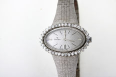 ONSA ladies' white gold watch – brilliant 1.40 ct VVSI TW