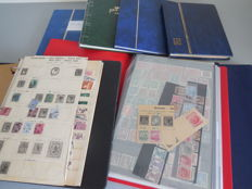 British Commonwealth – Collection in four stock books and three folders