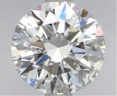 1.00ct  Round Brilliant  D IF  GIA-#808-original image -10x