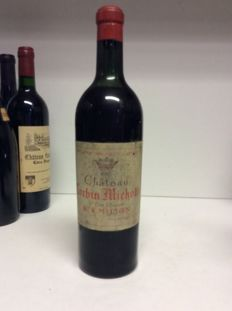 1953 Chateau Corbin-Michotte, Saint-Emilion Grand Cru Classé, France - 1 bottle 0,75l