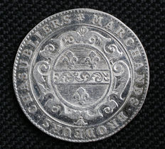 France - 'Marchands Brodeurs Chasubliers' 1704 Token - Silver
