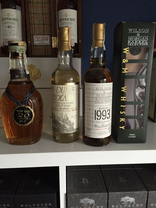 3 bottles - Bruichladdich 1993, Bruichladdich Dun Eidean 7 years old & the real Mackenzie 20 years old