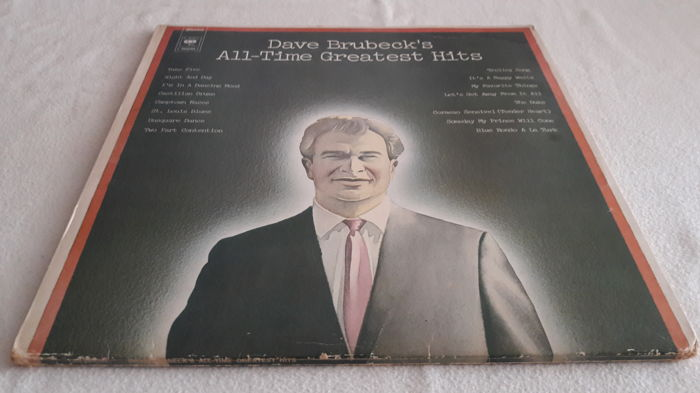 Lot of fantastic 7 oldJazz and Blues LP Album [2x Dave Brubeck, Maynard Ferguson, Chick Webb, Cab Kaye, 2x Ken Colyer)