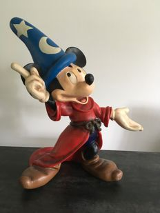 Disney, Walt - Figure - Mickey Mouse as Sorcerer's apprentice (ca. 1980)