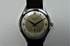MARVIN Hermetic - Man's Dress Wristwatch - Circa 1945 End Word War Two