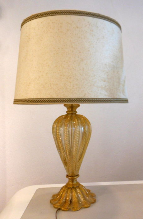 Gold In Lamp GlassCatawiki Barovieramp; Table Toso 'cordonato' mN80nw