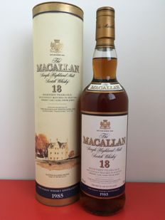 Macallan 1985 - Sherry wood - 18 years old