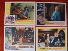 Collection of 44 lobbycards from the 50's and early 60's