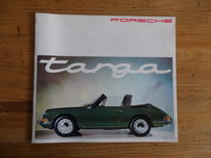 Porsche Targa 911 & 912 - Original brochure of the new model Targa - 09/1965