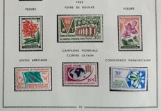 Former French Colonies 1963/1974 - Complete collection from the Ivory Coast