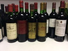70s , 80s & 90s Mixed Lot Bordeaux, France 12 bottles 0,75l