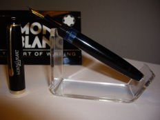 MONTBLANC 3-42 342 piston filler fountain pen 14k Golf F nib
